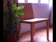 my prayer chair in Paris