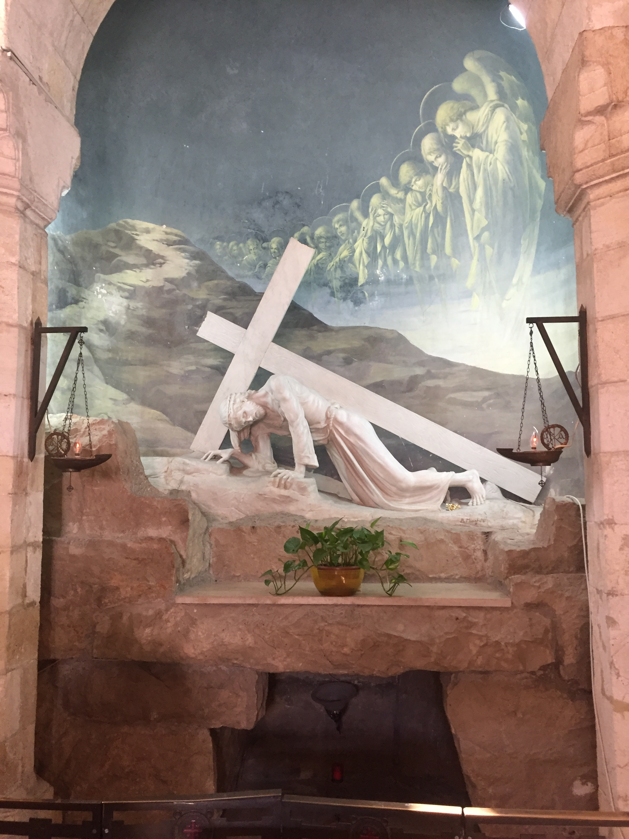 Stations of the Cross take you in the footsteps of Jesus