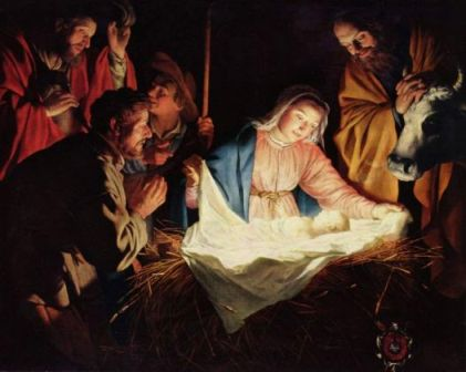 What's that lying in the manger? – Living on Jesus Street